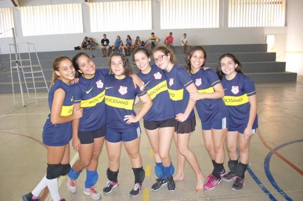 Equipe de vôlei feminino do CDS - Foto: Paulo Júnior