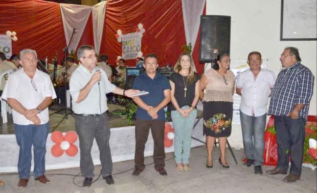 O Prefeito Roberto Germano falou na abertura da Feira - Foto: Divulgação