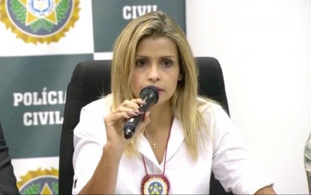 Reprodução/Globonews/ Delegada Cristiana Bento confirma que houve estupro coletivo de adolescente no Rio de Janeiro