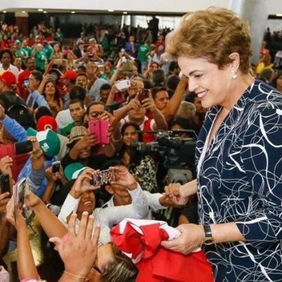 A presidente inaugurou a sede da Embrapa Pesca e Aquicultura na capital do Tocantins - Foto: Divulgação