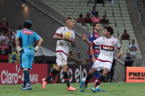 Empurrado pela torcida, o Fortaleza não se intimidou com o Flamengo - Foto: Jarbas Araújo/Site do Flamengo
