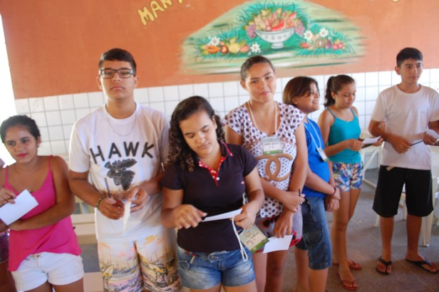 O Ryla reúne vários jovens na Escola Walfredo Gurgel – Foto: Paulo Júnior