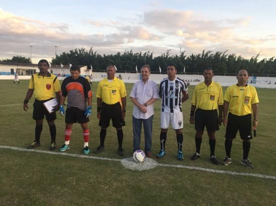 José Agripino participou da inauguração de obras complementares do estádio poliesportivo da cidade - Foto: Júnior Maia