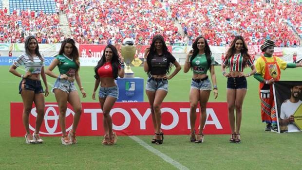 Vencedora do concurso Musa do Futebol Potiguar será conhecida na segunda-feira (Foto: Fabiano de Oliveira)