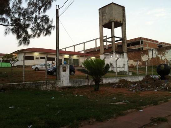 Complexo Penal João Chaves, na Zona Norte de Natal (Foto: Caroline Holder/G1)