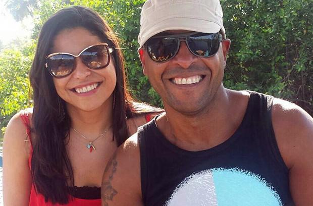 Nas redes sociais, casal aparece sorridente (Foto: Acervo Pessoal)
