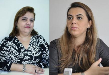Médica Eulália de Albuquerque Alves e a professora Cláudia Santa Rosa - Foto: Divulgação