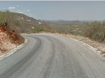 Trecho da Serra de Teixeira, na Paraíba - Foto: Reprodução/Google Street View