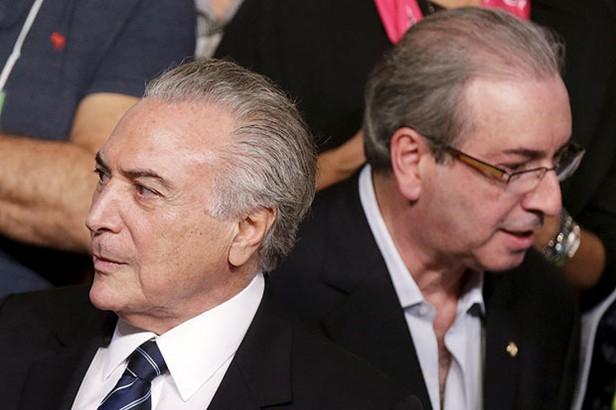 Michel Temer e Eduardo Cunha - Foto: Divulgação