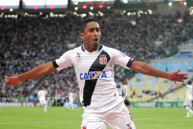 Foto:  Jorge Henrique marcou o gol do Vasco - Foto: Paulo Fernandes/Vasco.com.br