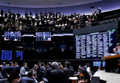 Projeto enfrentou resistência em plenário/ Foto: Luis Macedo/Câmara dos Deputados